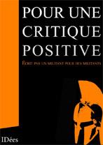 Pour une critique positive